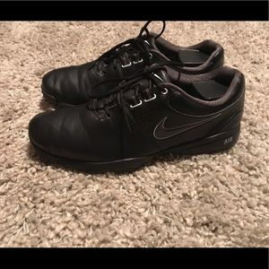 NIKE Air Rival III Men's Golf Shoes Leather Black